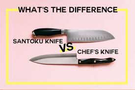 what are kitchen knives what s the difference between a chef s knife and a santoku knife