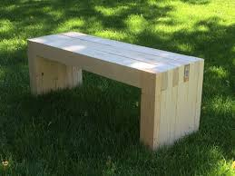 Outdoor Wood Bench Diy by Best 25 2x4 Bench Ideas On Pinterest Diy Wood Bench Bench