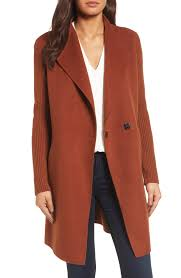 kenneth cole new york double face coat regular petite nordstrom