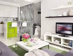living room beach in the afternoon wall murals with pink purple interior splendid design ideas for apartments appealing studio apartment with white wooden storage bookshelves advanced