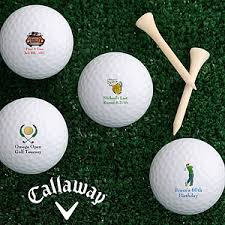 personalized callaway golf balls design your message sport