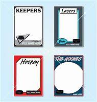 free trading card template gallery templates design ideas
