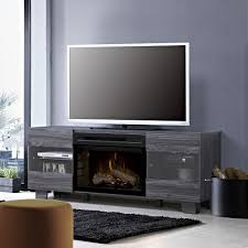 Dimplex Fireplace Media Console Best Distressed Black Large Tv Stand With Electric Fireplace Unit