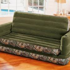 Sofa Sleeper Queen Size Intex Inflatable Realtree Camo Print Queen Size Pull Out Sofa Bed