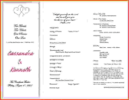exles of wedding ceremony programs sponsor letter wedding 28 images wedding itinerary template