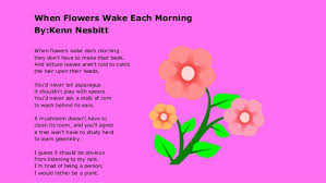 a flower you shouldn t power point