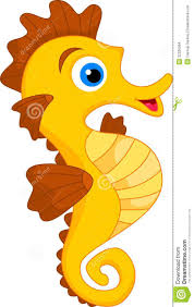 seahorse clipart cute pencil and in color seahorse clipart cute