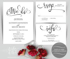 wedding card design template free download we do wedding invitation instant download printable template