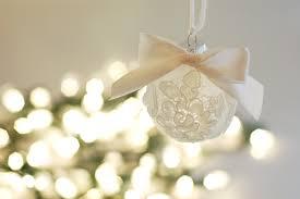 ornament made from wedding veil scraps hometalk