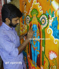 Paint By Number Mural by Mural And Oil Paintings By Vipin Iritty On Behance