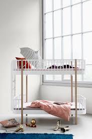Wood Collection Bunk Bed By Oliver Furniture Little Room - Oak bunk beds for kids