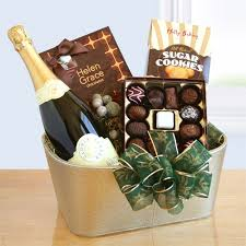 wine and chocolate gift baskets gloria ferrer sparkling wine and chocolate gift california delicious