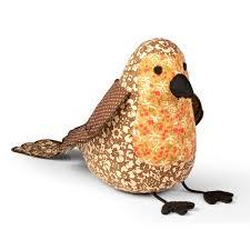 Novelty Door Stops by Little Robin Red Breast Bird Paperweight Homeware Cuckooland