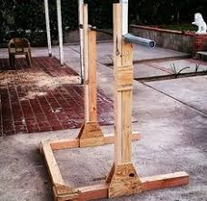 diy wooden squat rack diy and crafts homemade and squats