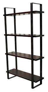 wooden shelves ikea ikea metal and wood bookshelf industrial bookcase