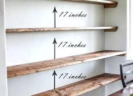 Kitchen Shelving Ideas Rustic Shelves Ideas Best Kitchen Shelves Ideas On Floating And