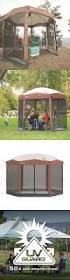 Outdoor Patio Canopy Gazebo by The 25 Best Screened Canopy Ideas On Pinterest Pergola With