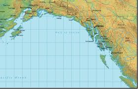 Alaska Road Map by Southeast Alaska Map