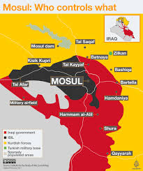 Iraq Map World by Iraqi Forces Push Into Isil Held Southern Mosul Iraq News Al