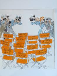 chaises cann es chaises de cinéma cannes par stanislas illustration