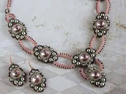 beading pattern necklace images Beading pattern 39 ariadne 39 necklace and earrings trinkets beading JPG