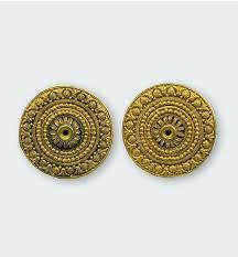 golden earrings design is history is mine golden earrings 6th century
