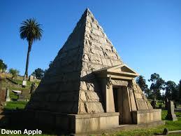 sacramento old city cemetery halloween pyramid mausoleums weird california