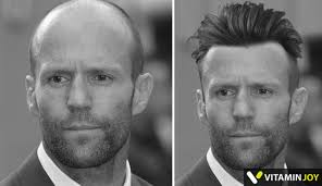 jason statham hairstyle how would 6 famous bald people would have looked with hair