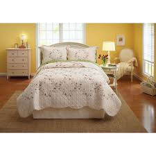 Duvet Covers And Quilts Better Homes And Gardens Hannalore Bedding Quilt Walmart Com
