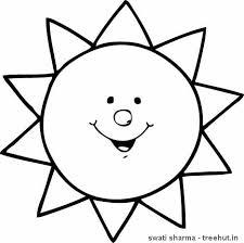 sun coloring page presxhool search april