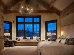 Contemporary Master Bedroom Rustic Contemporary Master Contemporary Bedroom Denver By