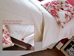 Twin Duvet Twin Duvet Cover U0026 Bed Skirt From Moda Toweling Sew4home