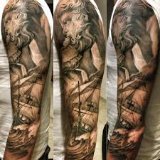 3d shaded sleeve meaning tattoos for design idea for
