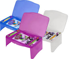 Kids Lap Desk For Car by Kids Portable Folding Lap Desk Lap Tray Laptop Table Box Storage
