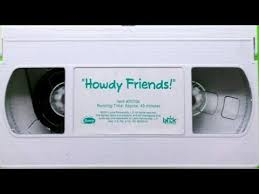 Opening Closing To Barney U0026 by Opening U0026 Closing To Barney Howdy Friends 2001 Vhs Youtube
