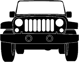 christmas jeep clip art jeep truck outline jeepers pinterest jeep truck jeeps and