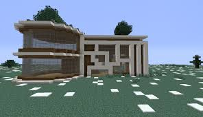 modern ish house my first real attempt in making a house