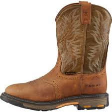 ariat s boots size 9 s work boots shoes academy