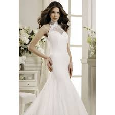 halter wedding dresses stunning mermaid lace halter top wedding gown apparel