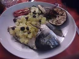 portovenere cuisine ottima orata al forno con patate e olive nere picture of
