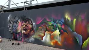 Bordeaux Street Art Le M U R Hopare Youtube