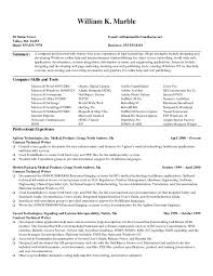 Resume Sample For Marketing Pdf by Writer Resume Sample Resume For Your Job Application