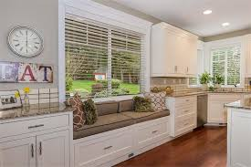 kitchen window seat ideas kitchen interior wooden floor concept kitchen l built in