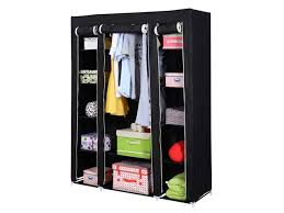 appealing 53 u201d portable closet wardrobe clothes rack storage