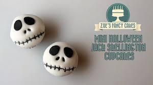 halloween cake cases mini halloween jack skellington cupcakes how to cake tutorial