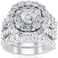 Wedding Ring Trio Sets by Bridal Jewelry Sets Shop The Best Wedding Ring Sets Deals For