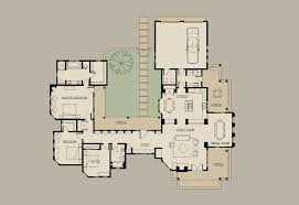 hacienda style homes floor plans southernliving home plans white