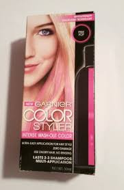 Halloween Hair Color Washes Out - pink purple wash out washable temporary hair color dye