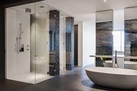Contemporary Ensuite Bathroom With CuttingEdge Design In Sydney - Modern ensuite bathroom designs
