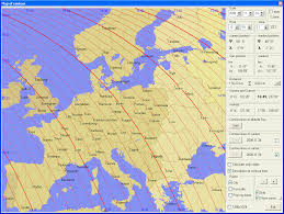 Sunrise Sunset Map Almsun U2013 Astronomical Compedium